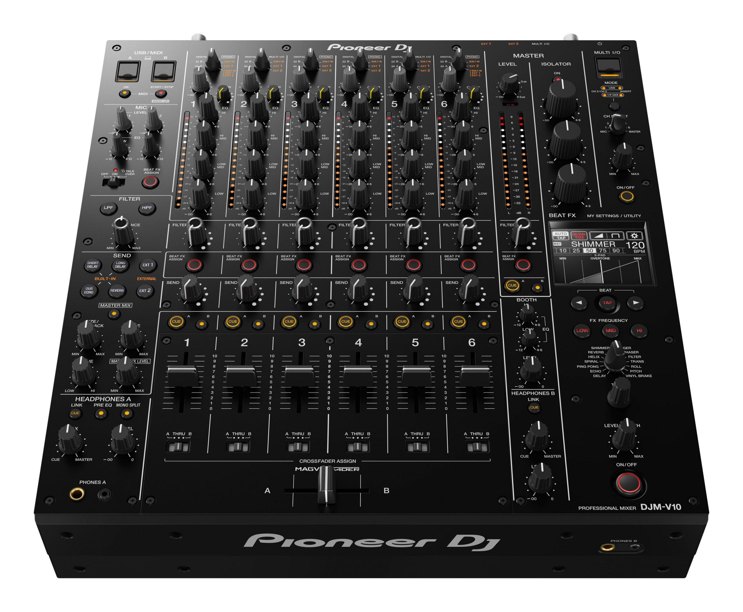 Pioneer DJM - V10 mixer
