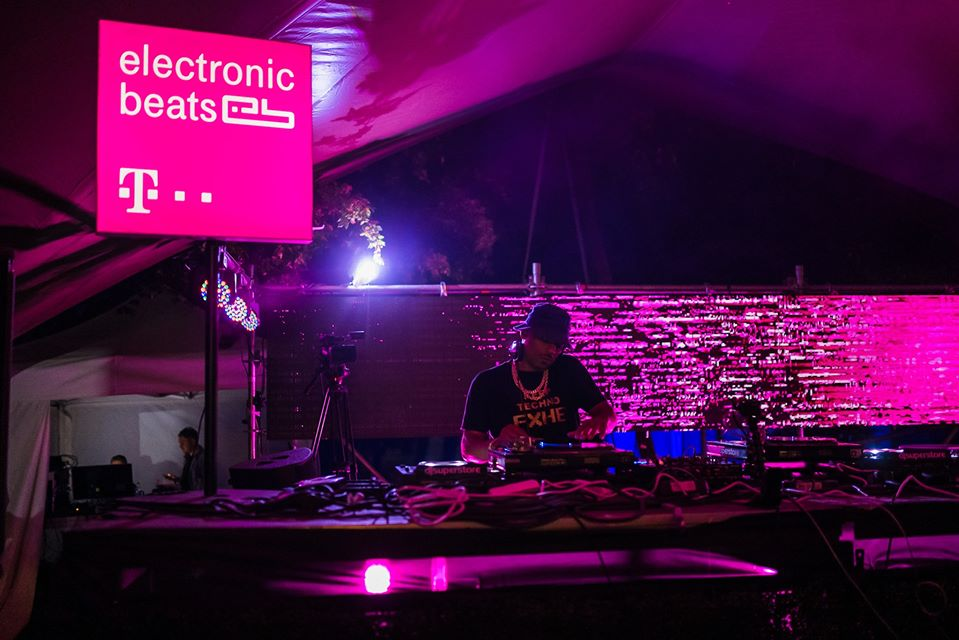 Omar S @ Telekom Electronic Beats stage - Fall In Love Festival 2019