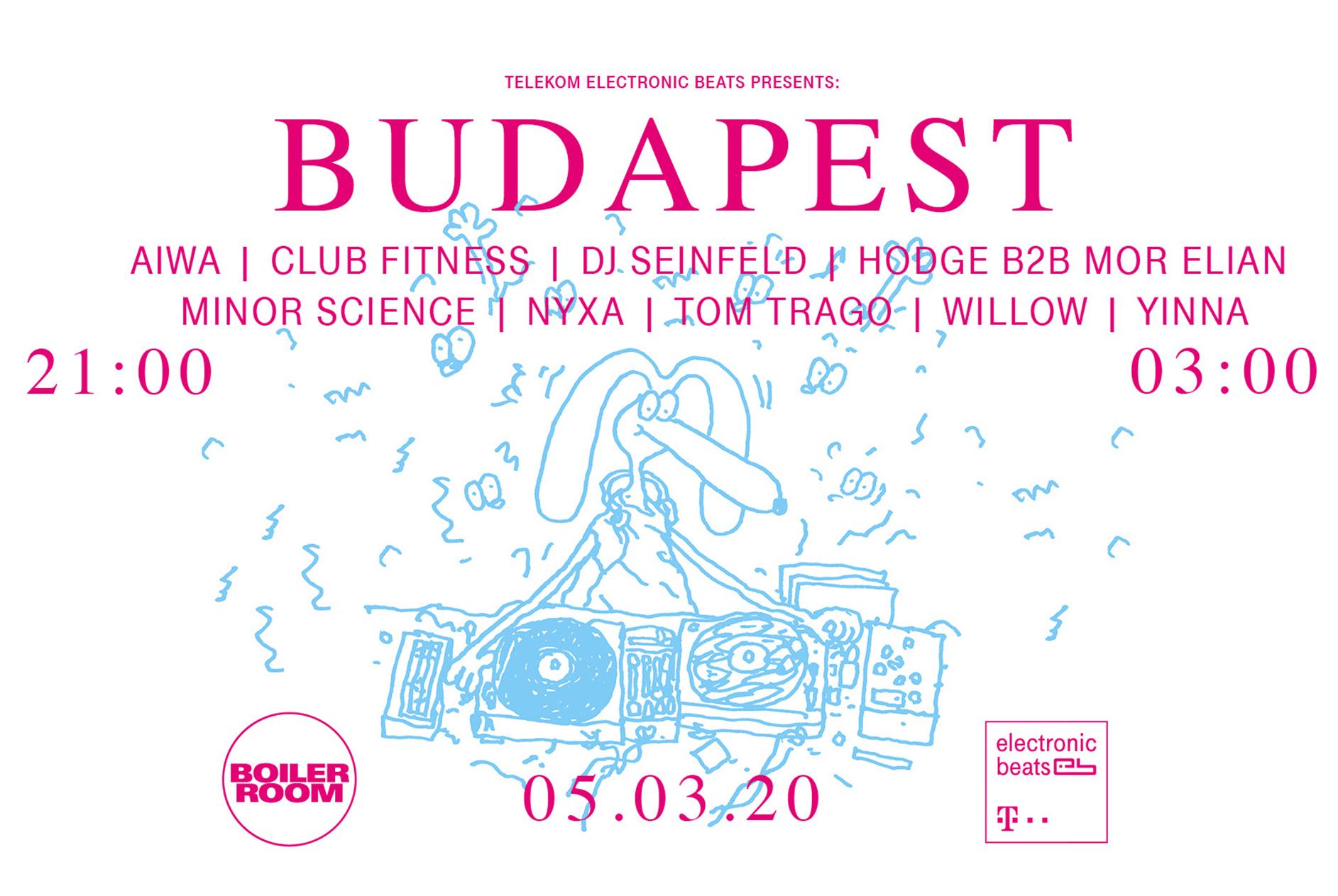 Telekom Electronic Beats x Boiler Room Budapesta