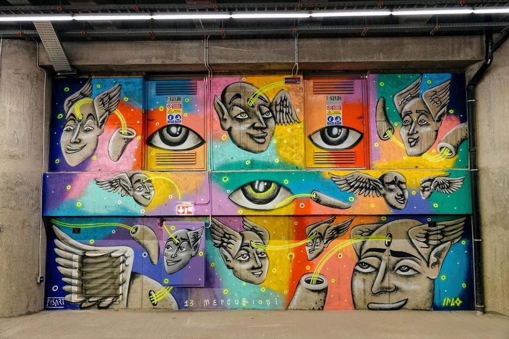 Timisoara Undertown Street Art Gallery. Foto: Sergiu Moraru